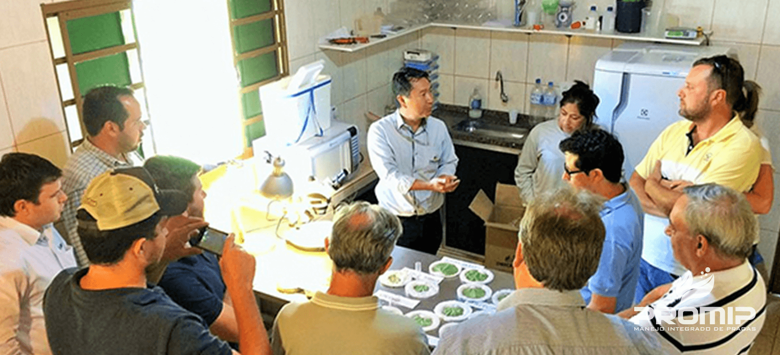 promip-manejo-integrado de pragas controle biologico conhecimento promip