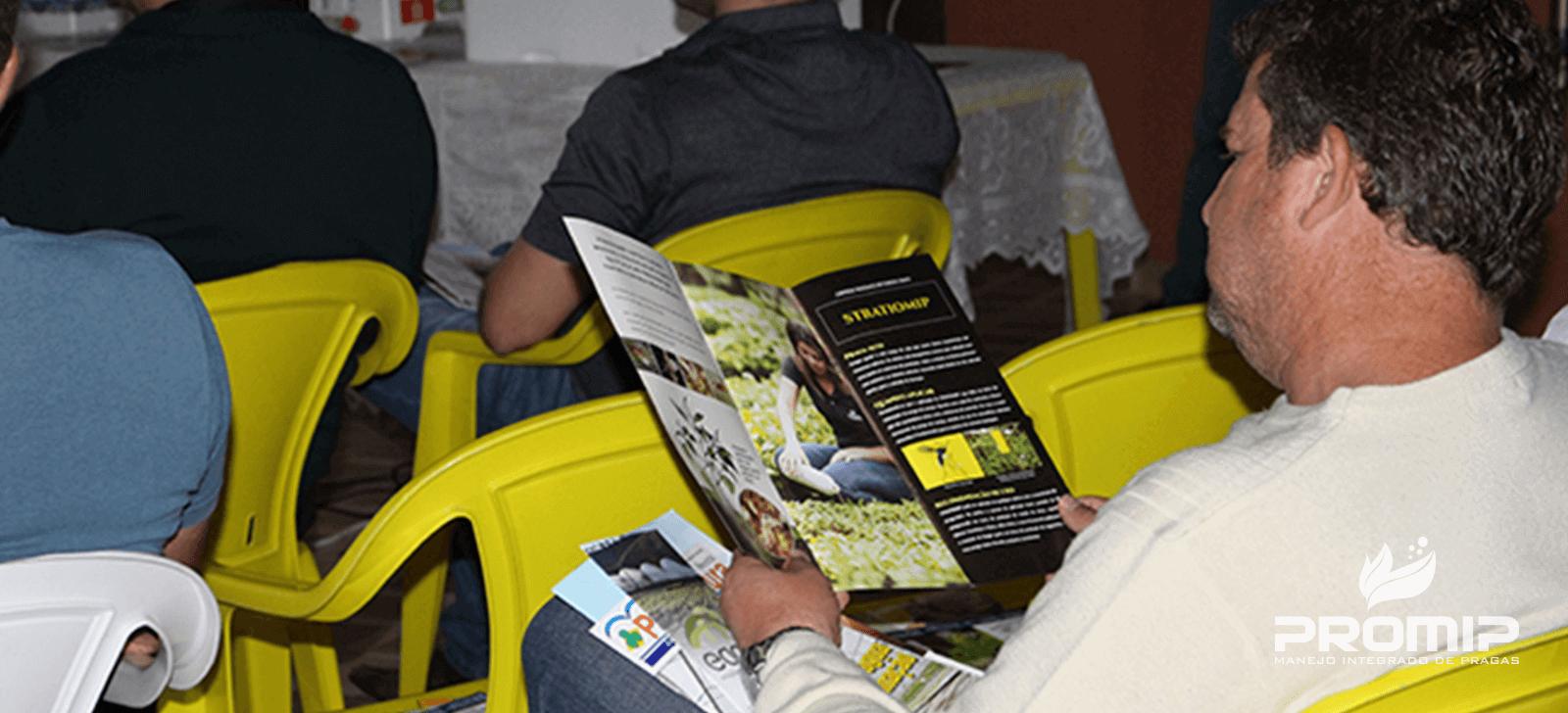 promip manejo integrado de pragas controle biologico inovacoes promip sao apresentadas para produtores de morango no sul de minas gerais (5)
