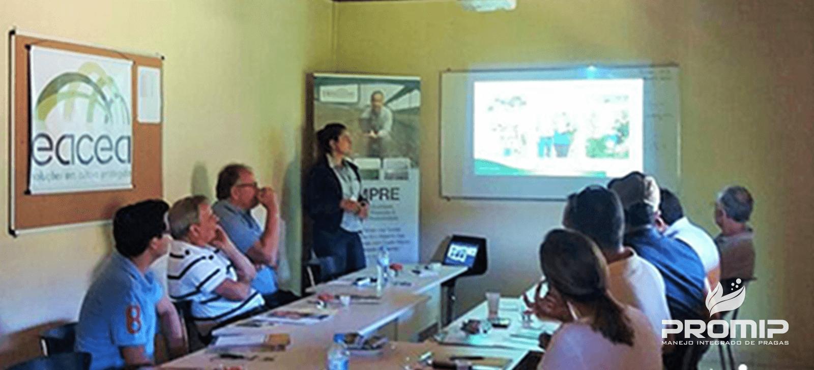 promip manejo integrado de pragas controle biologico transferencia conhecimento promio