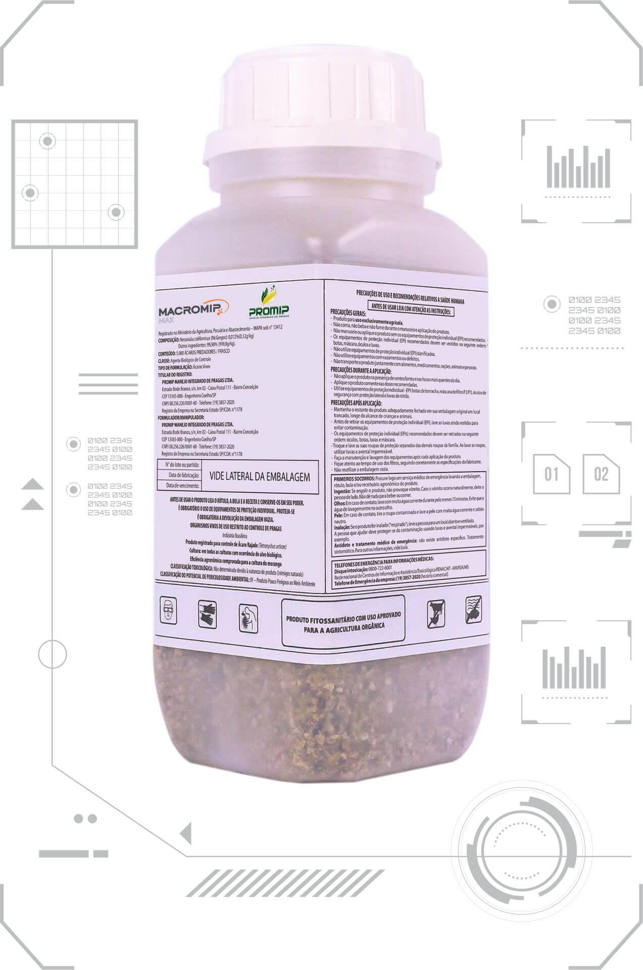promip controle biologico manejo integrado de pragas background flores aplicacao neomip max