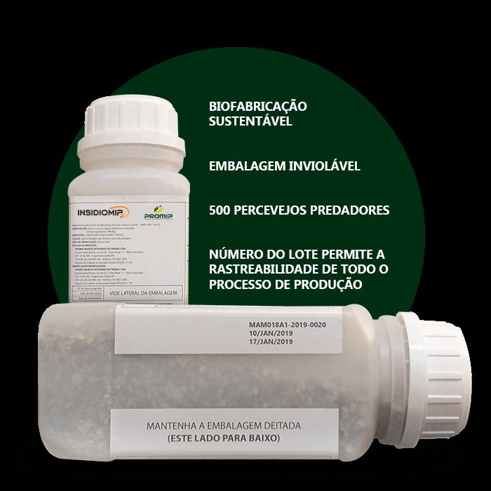 promip controle biologico manejo integrado de pragas background insidiomip embalagem biotecnologica