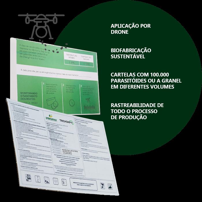 promip controle biologico manejo integrado de pragas background trichomip p embalagem biotecnologica